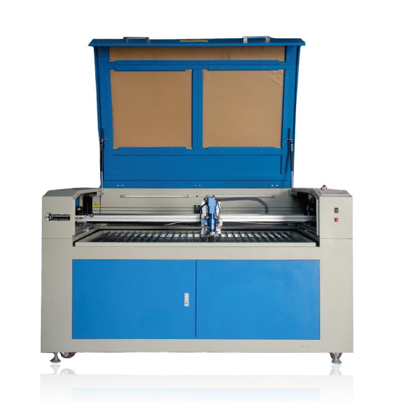 Mixed Laser Cutting Machine Price GS1490 Laser Cutter With Puri Laser Tube 60w